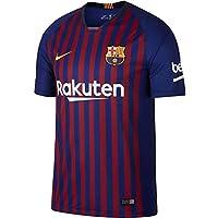 Nike Fútbol Club Barcelona Camiseta, Hombre, Azul/Rojo, S