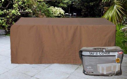 Teli Per Tavoli Da Esterno.Hbcollection Premium Polyester Telo Di Copertura Per Tavolo