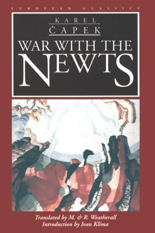 Book cover for War with the Newts