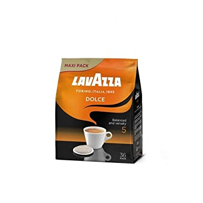 Lavazza Dolce for Senseo, 36 Coffee Pods, (For Senseo Machines Only)