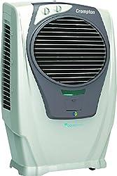 Crompton Greaves Turbo Sleek ACGC-DAC553 55-Litre Dessert Cooler (White/Grey)