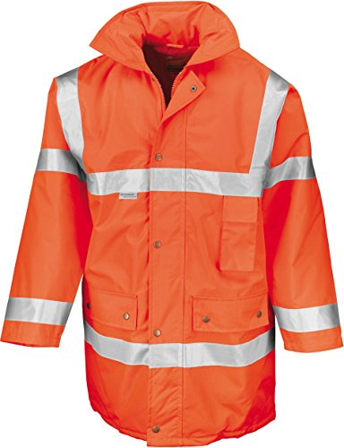 Result Safety Jacket Fluoresent Yellow