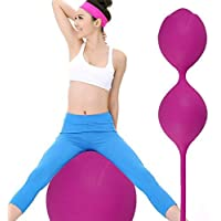Silicona Kegel exerciseur para las mujeres Vagina Passion Dual Intelligent bolas hembra Kegel Vaginal andamios exerciseur Kegel para las mujeres