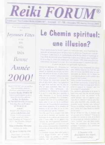 Le chemin spirituel: une illusion ? n18