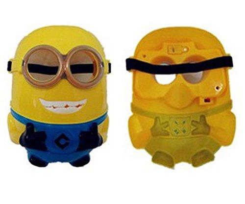 Preisvergleich Produktbild Halloween-Maske, Schutzmaske, Design: Blitz