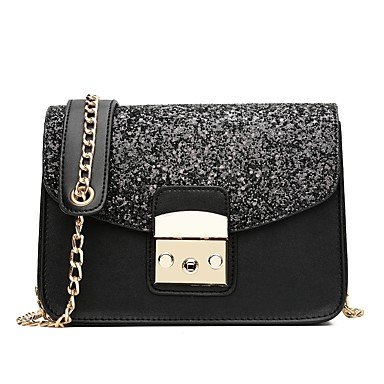 YJIUX Frauen Schultertasche PU All Seasons Event / Party Casual Formal Outdoor Büro & Karriere Klappe Verschluß Verschluss Rot Rosa Schwarz Blau Blushing Pink