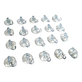 Tinas Collection 20 pcs. Bathroom Kitchen Suction Cup Wall Hooks Hangers christmas lights household