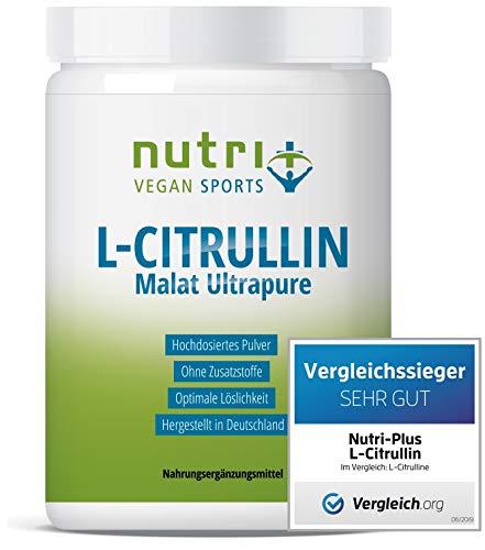 TESTSIEGER L-Citrullin 2019* | L-CITRULLINE MALAT Pulver 1kg Vegan | höchste Dosierung & Reinheit | Bodybuilding Fitness | Malate DL 2:1 | hergestellt in Deutschland | 2x 500g