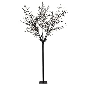 Câble de 5 mètres arbre de Noël décoration lampe extérieure 12 watt LED Globo 39114