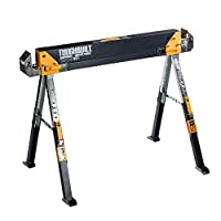 TOUGHBUILT TOU-C700 Saw Horse/Adjustable Jobsite Table (Single)