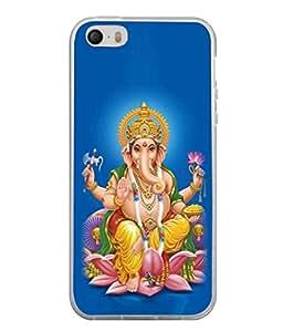 PrintVisa Designer Back Case Cover for Apple iPhone 4S (Vinayaka Blessing Celebration Deity Ceremony Chaturthi Beautiful Creative)