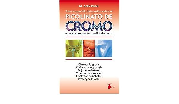 Picolinato de cromo para diabetes