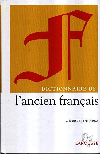 Dictionnaire de l'ancien français PDF Books