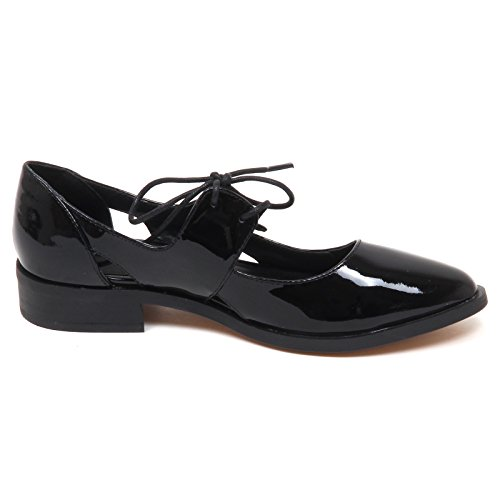 Windsor Smith E0148 (Without Box) Scarpa Donna Nero Napa Patent Shoe Woman Nero
