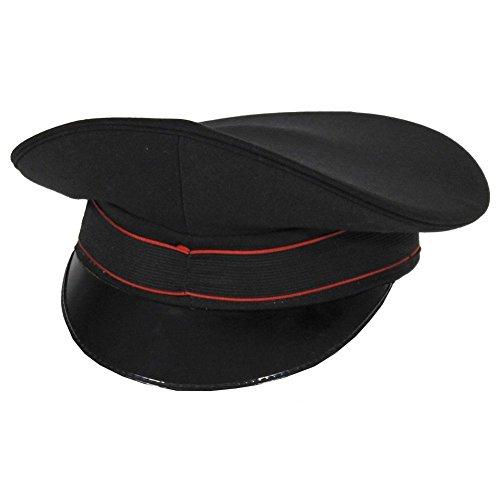Armeeverkauf Italienische Militär Uniform original Schirmmütze mit Band CARABINIERI...