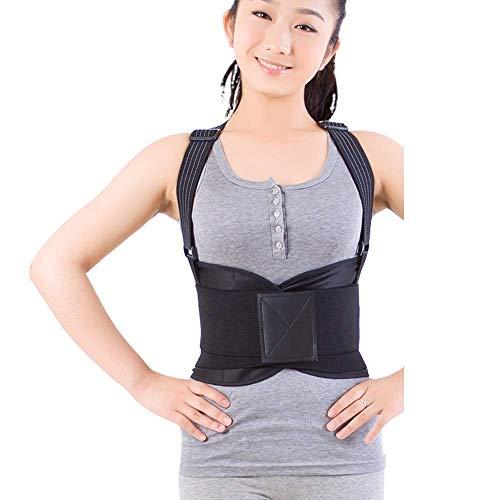 ATR Körperhaltung Korrektor Buckel Sitzposition Korrekturgürtel Hohe Elastizität Gurt Taille Befestigung Lendenwirbelsäulenkorrekturgürtel (Größe: XL) - Taille Befestigung