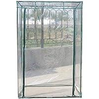 Tomate Hortalizas, de efecto invernadero Zyurong PE para crecimiento de plantas tienda de tomate jardín con puerta de entrada con cremallera