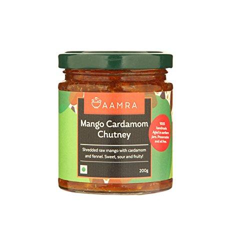 Aamra Homemade Mango & Cardamom Chutney 200gm