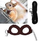 Biniwa Hundegeschirr, für Meerschweinchen, Hamster, Haustier-Training, verstellbar, 1 Stück