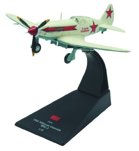 MiG-3 diecast 1:72 fighter model (Amercom SL-52)