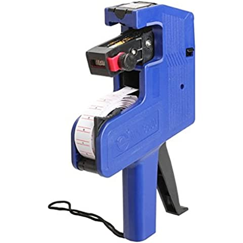 Dealglad® Precio Etiqueta Marcador Line máquina precio Pistola etiquetadora Herramienta Portátil, color