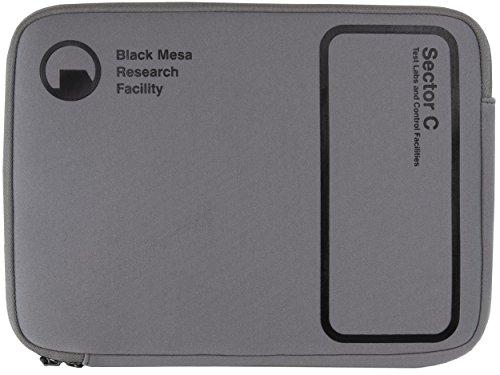 Musterbrand-Half-Life-Notebook-Tasche-Sector-C-13-Neopren-Laptop-Tasche-Grau-One-size
