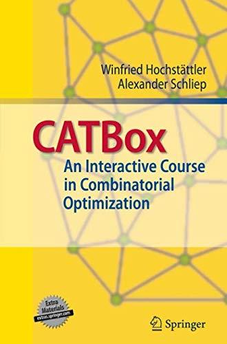 CATBox: An Interactive Course in Combinatorial Optimization