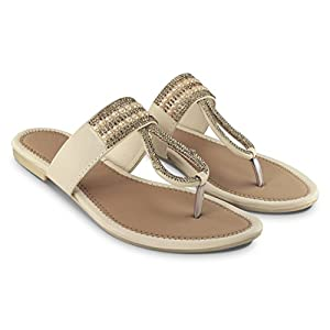 BEPS Stylish Fashionable Trendy Footwear Collection - Synthetic Flat For Women & Girl