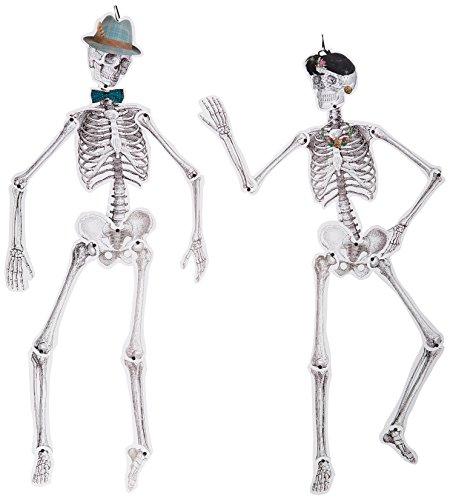 Talking Tables Skelett Hängedekoration perfekt für Halloween