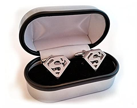 Super Hero Cufflinks (Superman