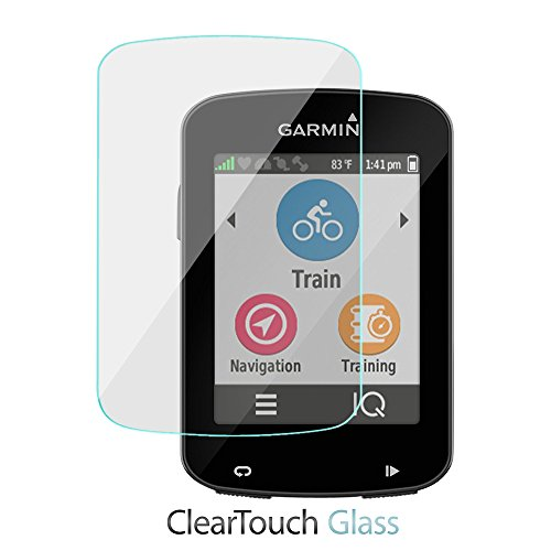 Boxwave Cleartouch Screen Protector (BoxWave Garmin Edge 820Displayschutzfolie, [ClearTouch Glas] 9H Tempered Glass Protection Screen für Garmin Edge 820, Explore 820, 520)