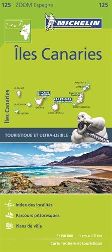 Carte Iles Canaries Michelin