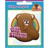 "Rainbow PVC Magnet, Bungle ""Oh Silly!"""