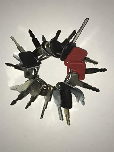 Preisvergleich Produktbild TORNADO HEAVY EQUIPMENT PARTS 18 Schlüssel Schwerausstattung / Bau Zündschlüsselsatz
