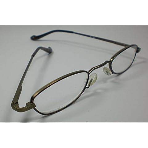 In lettura occhiali per uomo e donna + 2,5 Diop. Alto arco lettura l'aiuto