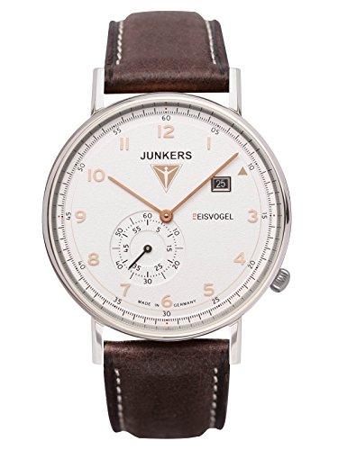 Junkers Herren-Armbanduhr Analog Quarz Leder 67304