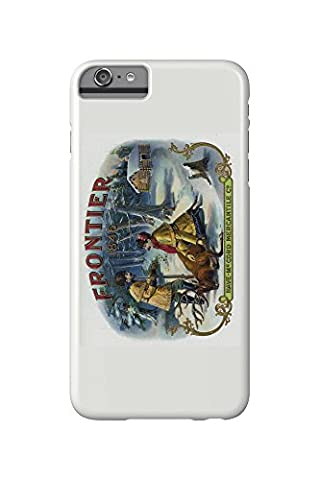 Frontier Brand Cigar Box Label (iPhone 6 Plus Cell Phone Case, Slim Barely There)