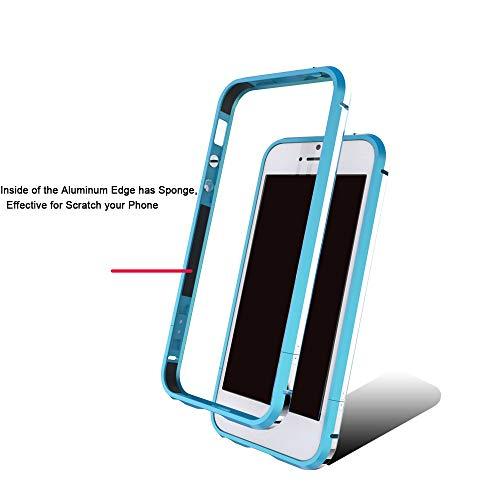 Dulaxie - Für Xiaomi 4 4s 5 Fall Highlight Ultra Thin Metallstoßaluminiumrahmenabdeckung für Sony Z3 Für Oppo R9 / R9 Plus für iPhone 6 / 6S [Blau für Oppo R9 Plus] - 6 Otterbox-fälle Iphone Blau