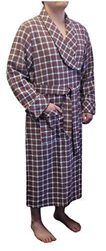 Preisvergleich Produktbild Lee Valley,  Ireland Herren Bademantel Flanell - Mehrfarbig - X-Large