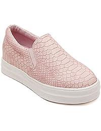 Mine Tom Mujeres Niñas Moda Casual Zapatos Zapatillas Verano Zapatos De Plataforma Zapatos Del Barco