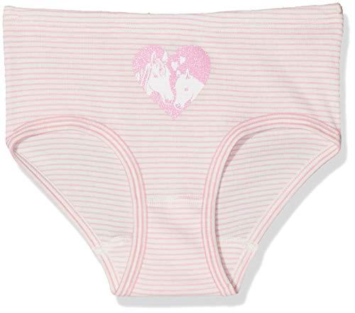 Sanetta Mädchen Hipslip Stripe Unterhose, Rosa (scampi 3950), 152 -