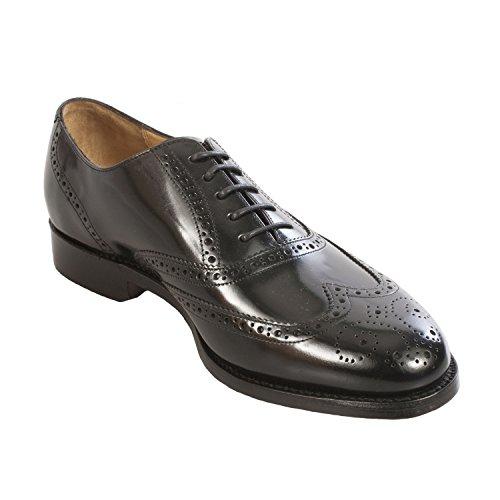 Cordones De Zapatos Para Vestir Negro Barker Con Madonna El Hombre aqt5tg