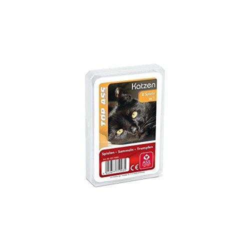 ASS Altenburger 22571993 - TOP ASS Katzen, Kartenspiel (Gebrauchte Kinder-autos)