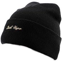 Bonnet à Revers Hype Just Gold Noir - Mixte