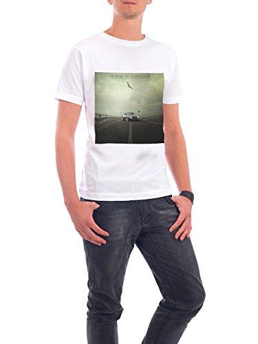 """Design T-Shirt Männer Continental Cotton """"The Bandit"""" - stylisches Shirt Automobile Abstrakt Film Reise Sport / Motorsport von Surreal World Weiß"""