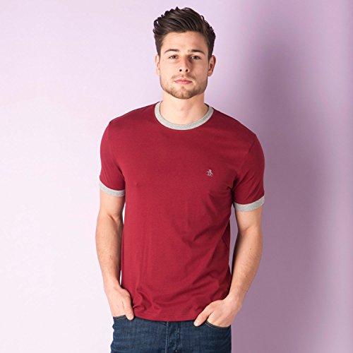 original-penguin-t-shirt-uomo-burgundy-xx-large