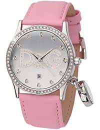 D&G Dolce&Gabbana Damen-Armbanduhr Analog Quarz Leder DW0009