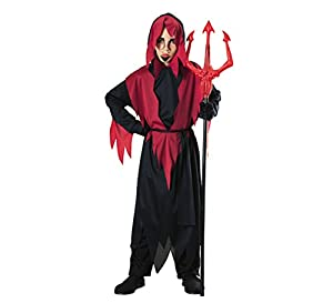 Halloween - Disfraz de Diablo para niño, infantil 8-10 años (Rubie
