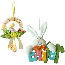 Amazon It Decorazioni Pasqua Ghirlande Uova
