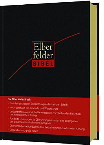 Elberfelder Bibel 2006 - Großausgabe Leder Goldschnitt